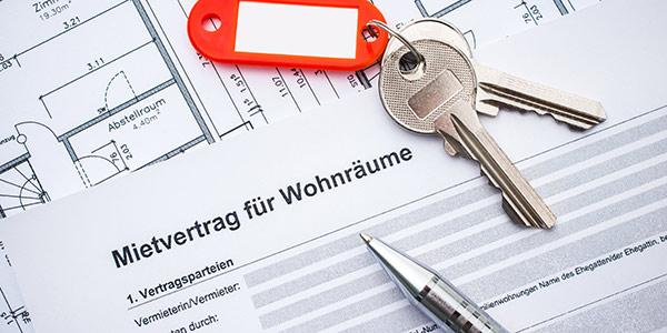 Mietvertrag für eine Wohnung mit Wohnungsschlüssel - Kanzlei für Mietrecht in Berlin-Wilmersdorf, Rechtsanwalt Uwe Heichel